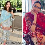 Just Fashion Now in Bollywod – Karisma Kapoor and Janhvi Kapoor Set to Convince You with These Stylish Kurtas