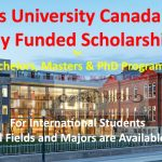 Queen's University Scholarships Canada 2021 for Bachelors, Masters & PhD Programs
