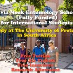 Study in South Africa – Dr. Sylvia Meek Entomology Scholarship (Fully Funded) for International Students