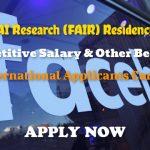 Facebook AI Residency Program for Master, PhD & Fellowship, Apply Now