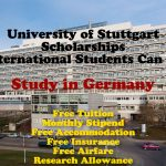 University of Stuttgart Scholarships (Fully Funded) for International Students to Study in Germany