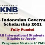 KNB Indonesian Government Scholarships (Fully Funded) Announced for International Students