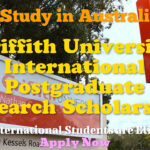 Griffith University International Postgraduate Research Scholarship for International Students to Study in Australia