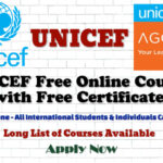 UNICEF Free Online Courses with Free Certificates for All International Students & Individuals
