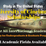 University of Cincinnati Scholarships for International Students in the United States