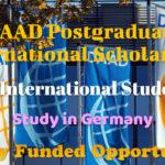 DAAD Postgraduate International Scholarship Announced for International Students