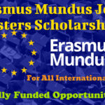 Erasmus Mundus Joint Masters Scholarships for International Students to Study in Europe