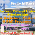 Far Eastern Federal University Scholarships for International Students for Bachelors, Masters & PhD Programs in Russia