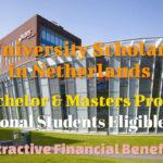 Netherland Scholarship at HAN University for International Students