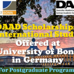 DAAD Scholarships for International Students at University of Bonn in Germany