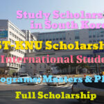 BEST-KNU Scholarship at Kangwon National University in South Korea for International Students