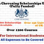 British Chevening Scholarship UK 2022 (Fully Funded) for International Students