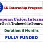 European Union Internship (Blue Book Traineeship Programme) │ Fully Funded