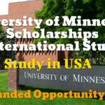University of Minnesota Scholarships for International Students to Study in USA