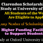 Clarendon Scholarship 2022 (Study at University of Oxford) for International Students