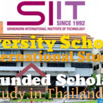 SIIT University Scholarship to Study in Thailand – Fully Funded Opportunity