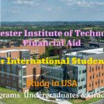 RIT International Student Financial Aid in USA for International Students for Undergraduate and Graduate Programs