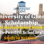 University of Ghent Scholarship for International Students in Belgium (Fully Funded)